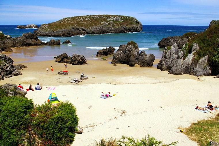 Playa de Barro, Llanes, Asturias
